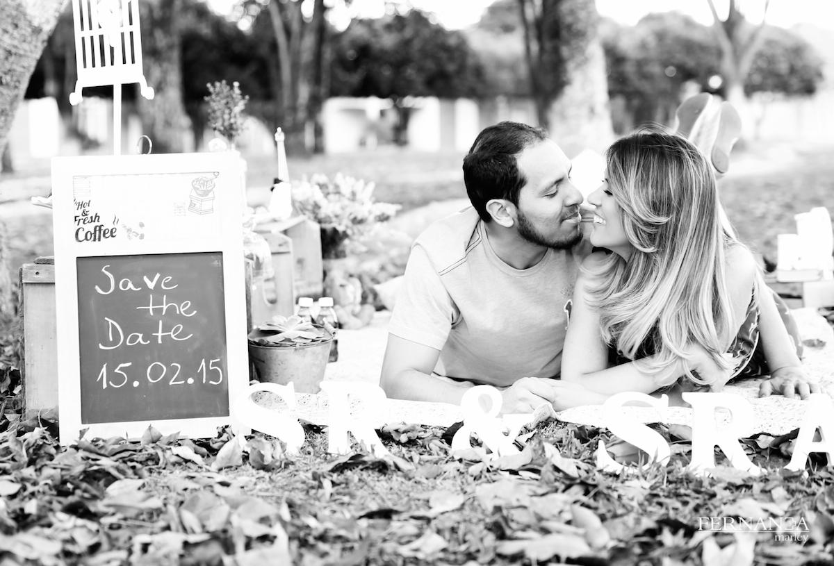 Ensaio de pre casamento da Fernanda La Salye
