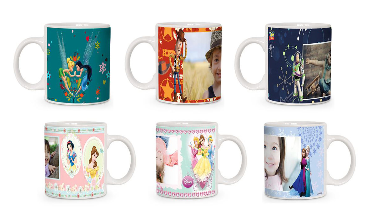 Canecas Personalizadas Personagens Disney