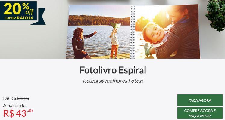 Fotolivro Espiral