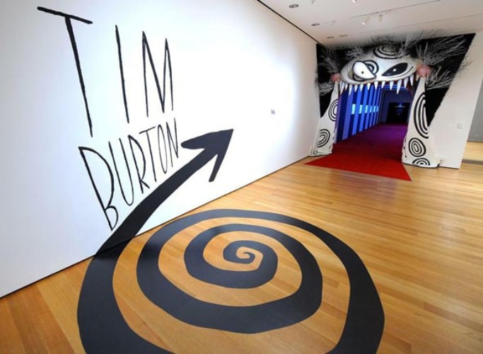 O Mundo de Tim Burton: Tire fotos incríveis