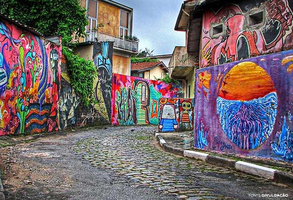 lugares para tirar fotos em São Paulo: Beco do Batman