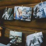Painel de Fotos como Artigo de Decoração