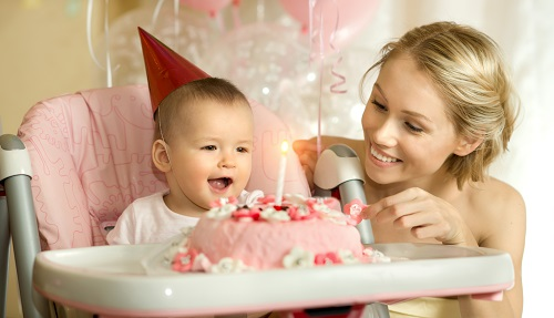 aniversário do seu filho com fotos