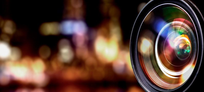 diafragma da câmera fotográfica / triângulo da exposição