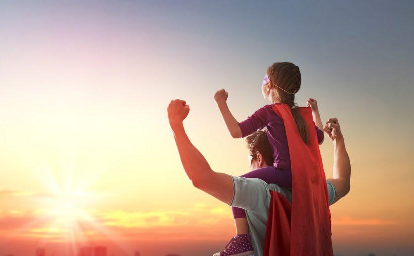 Dia dos Pais: Comemore esse dia com seu Herói