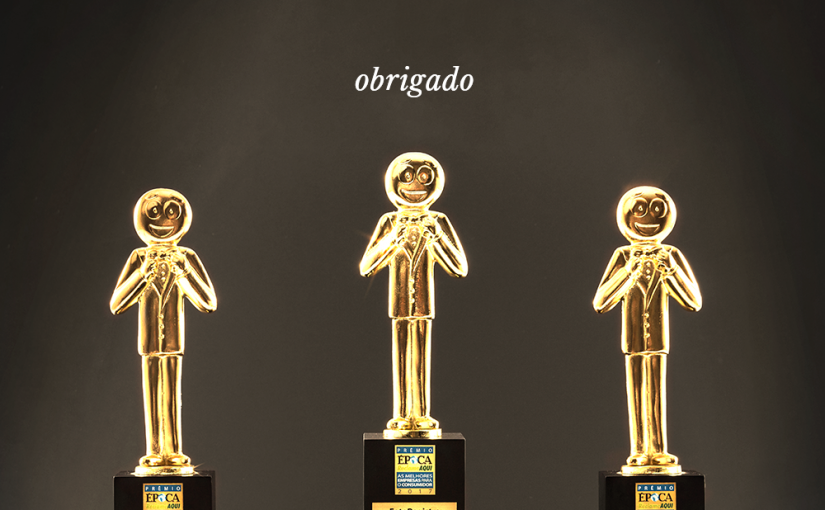 Tricampões no Prêmio Época ReclameAQUI