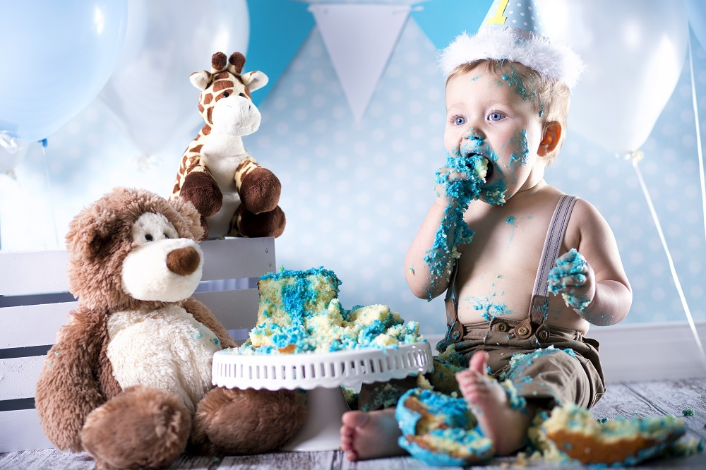 Smash the Cake - estilo de foto