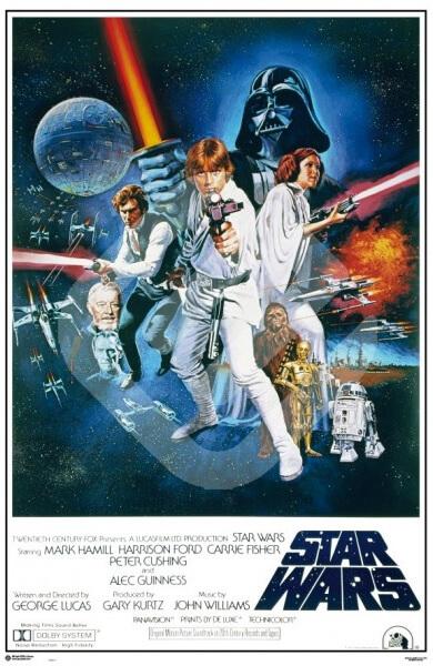 Capa do Filme Star Wars