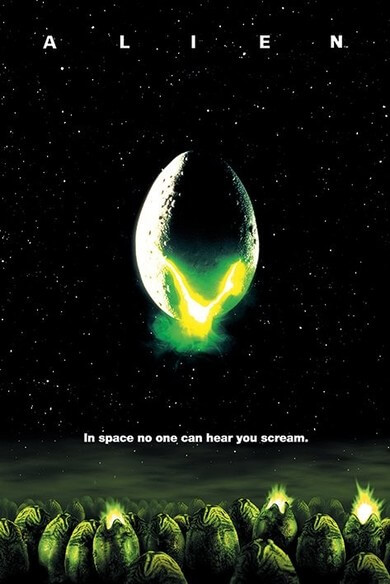 Capa do Filme Alien O Oitavo Passageiro
