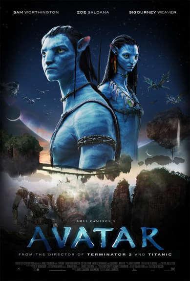 Capa do Filme Avatar