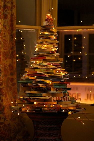 Arvores de Natal de Livros