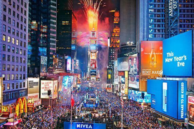 Time Square em Nova York