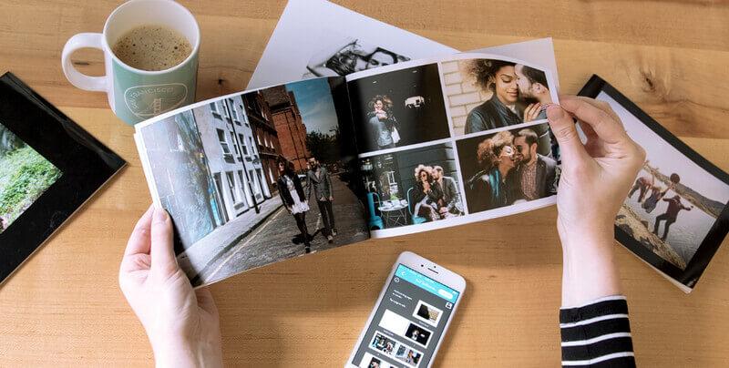 Álbum fotográfico estilo fotolivro: 4 modelos para inspirar