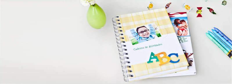 4 ideias para personalizar capa de caderno!