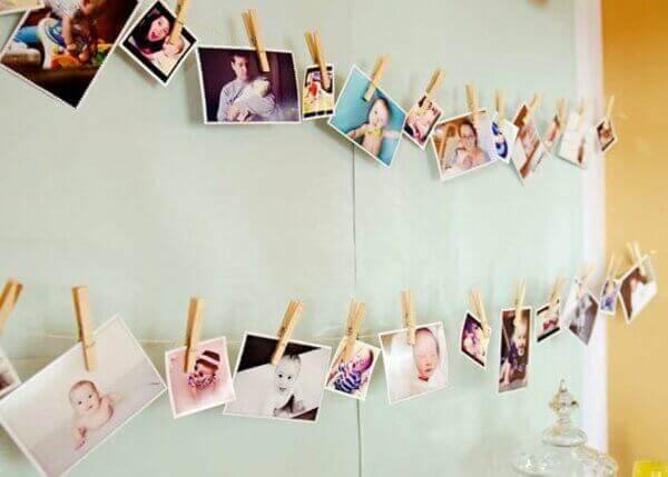 Varal de Fotografias