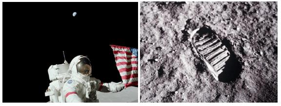 Pegada na lua