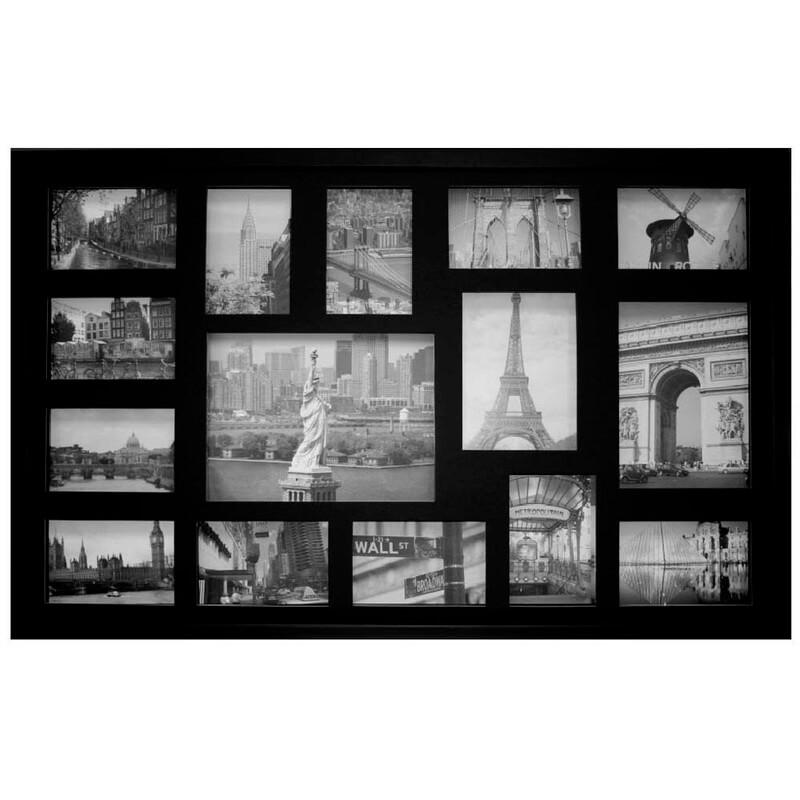 Quadro de parede com fotos