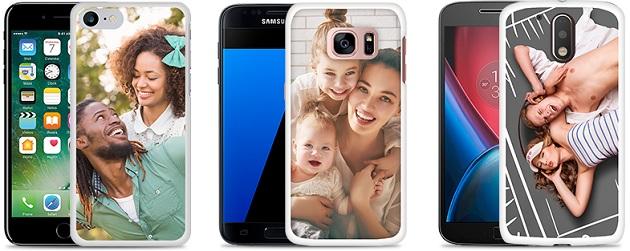 Capinha personalizada para smartphone