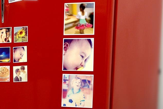 Imãs de geladeira personalizados com fotos do Instagram