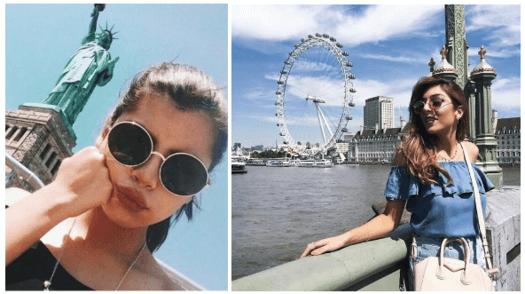 Selfie tumblr em pontos turísticos